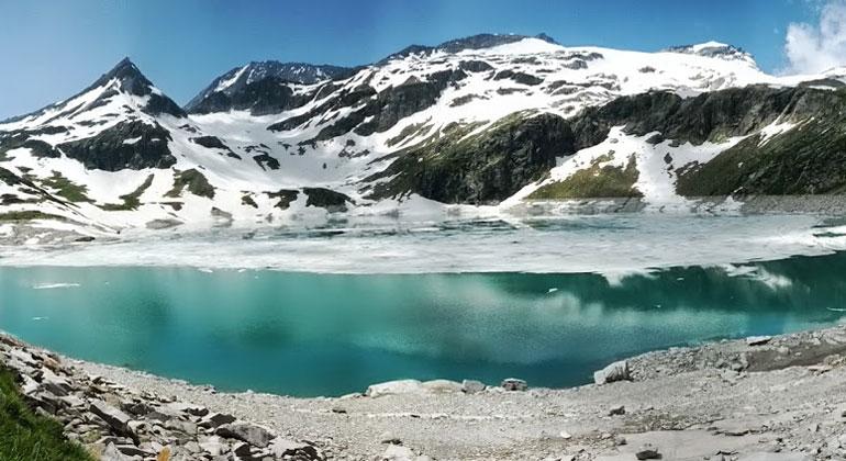 Gletscherseen seit 1990 um 50 Prozent gewachsen