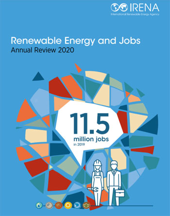IRENA   Renewable Energy and Jobs   Annual Review 2020