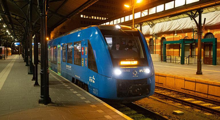 Emissionsfreier Zugverkehr