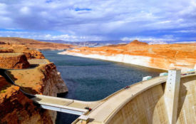 unsplash.com |David Lusvardi | Glen Canyon Dam, Lake Powell, Page, Arizona