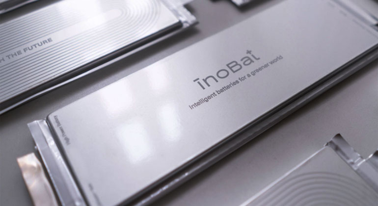 World's first 'intelligent' electric vehicle battery unveiled by European battery producer InoBat Auto