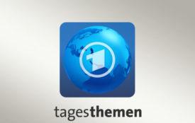 tagesschau.de | tagesthemen-logo | Caren Miosga im Gespräch mit Greta Thunberg
