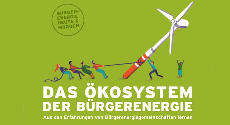 """Broschüre """"Ökosystem der Bürgerenergie"""""""