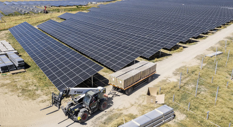 EnBW | Solarpark Weesow