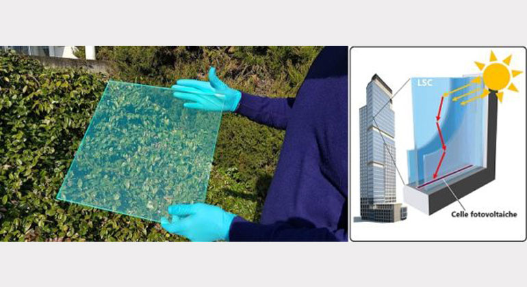 Solarmodul in 08/15-Fensterrahmen integrierbar