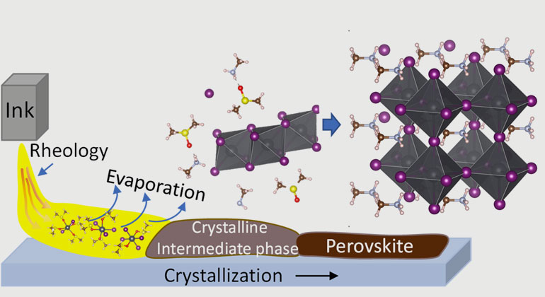 Perovskite Solar Cells: paving the way for rational ink design for industrial-scale manufacturing