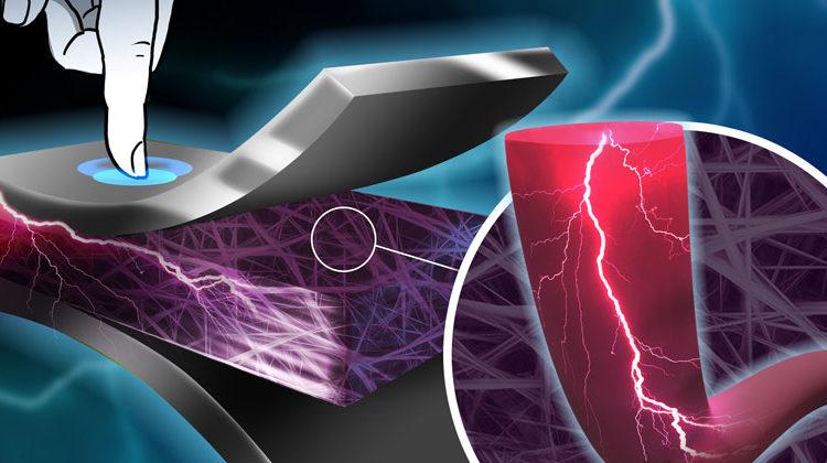MPI-P | Wenn piezoelektrische Fasern in Kleidung eingewebt werden, wandeln sie bei jeder Bewegung mechanische Energie in elektrische Energie um.