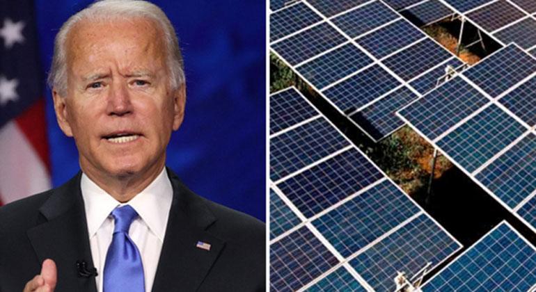Rethink Energy | Report | Under Joe Biden as new President the solar market in the U.S. will accelerate a new report of Rethink Energy predicts.