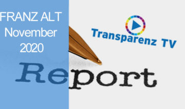 TransparenzTV | Franz Alt - Report November_2020