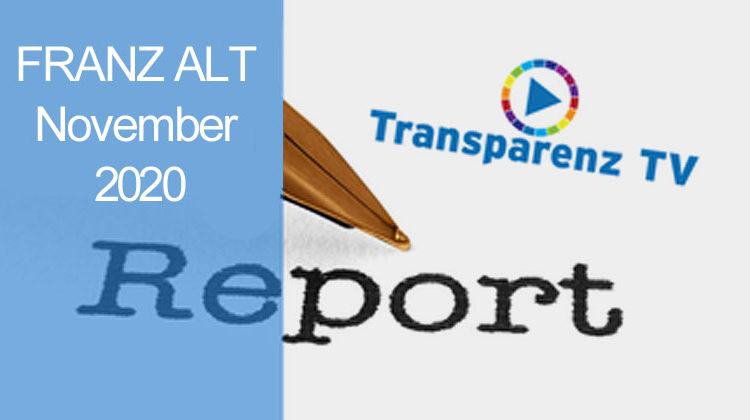 TransparenzTV | Franz Alt - Report November_2020