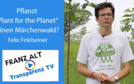Transparenz TV | Felix Finkbeiner - plant-for-the-planet.org