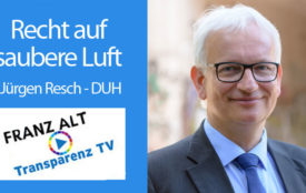 TransparenzTV | Steffen Holzmann | DUH Bundesgeschäftsführer Jürgen Resch