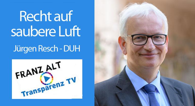 Franz Alt: Recht auf saubere Luft