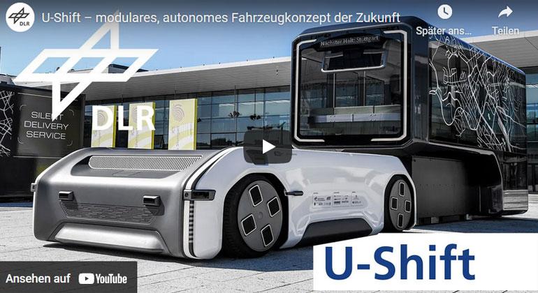 U-Shift – modulares, autonomes Fahrzeugkonzept der Zukunft
