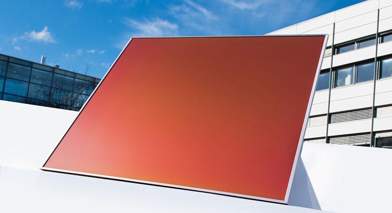 Fraunhofer ISE: Neues Lösung für farbige Module entwickelt