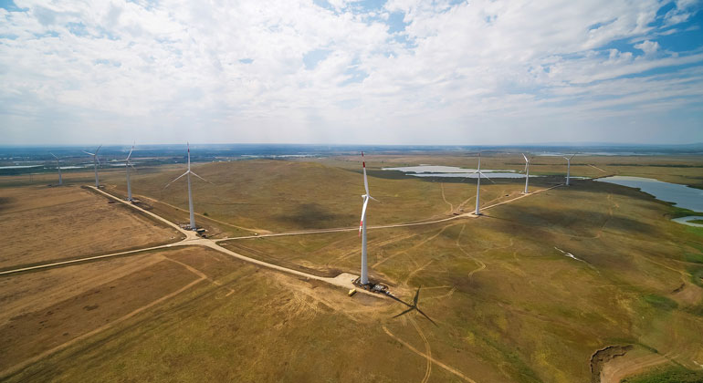 Electricity and power from the Rosatom's Kochubeyevskaya Wind Farm have entered the wholesale market