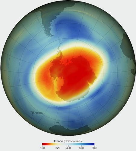 WMO | Ozonloch 2020