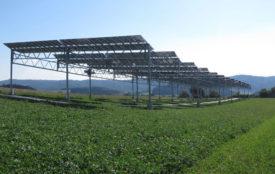Fraunhofer ISE | Agrivoltaics test plant