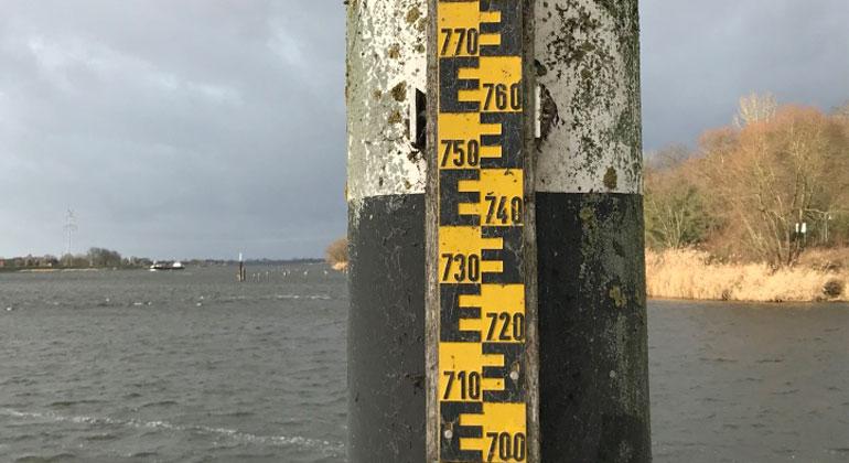 Der Meeresspiegel steigt an Nord- und Ostseeküste