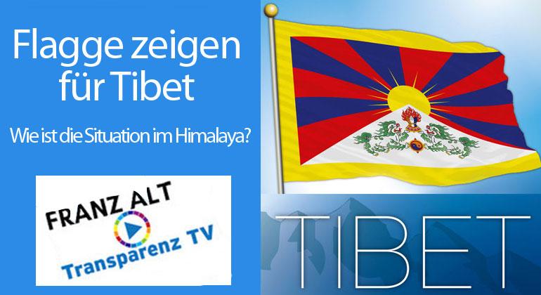 Franz Alt: Flagge zeigen für Tibet