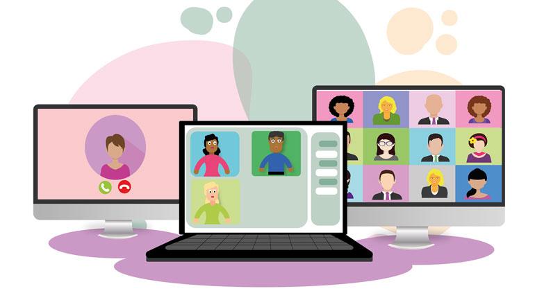 pixabay.com   Alexandra_Koch   VideoKonferenz