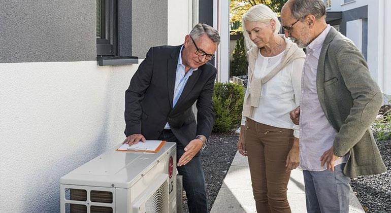 Wärmepumpen eignen sich auch für bestehende Gebäude