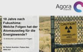 Agora Energiewende | Fukushima