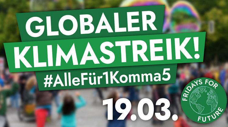 fridaysforfuture.de | Globaler Klimastreik 19.März 2021