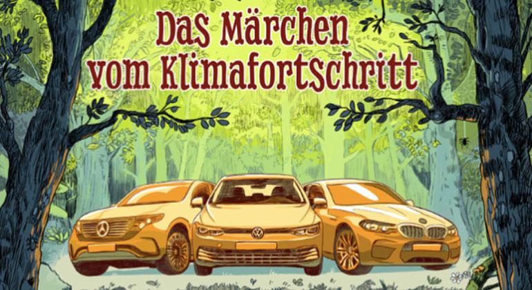 Greenpeace-Analyse: VW, Daimler und BMW rechnen sich ihren Beitrag zum Klimaschutz schön