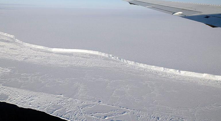 Eisberg halb so groß wie Saarland abgebrochen