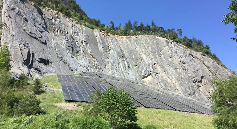 Rekordzubau bei der Schweizer Photovoltaik 2020