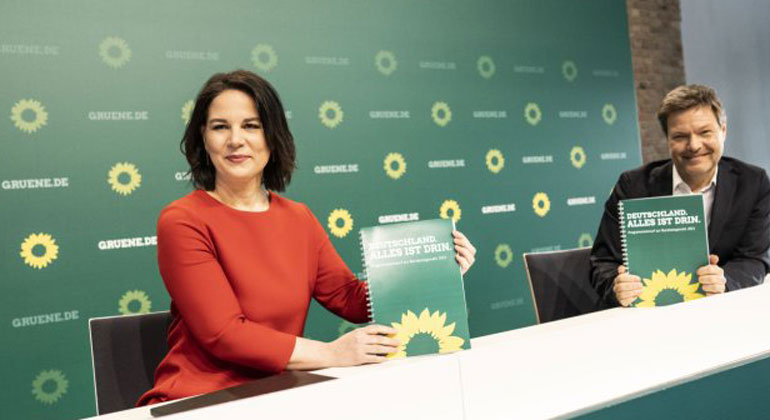 gruene.de | Dominik Butzmann | Annalena Baerbock - Robert Habeck