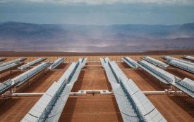 DLR | SENER | Solarthermisches Kraftwerk Noor I & II in Ouarzazate, Marokko