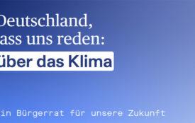 Klima Bürgerrat | buergerrat-klima.de