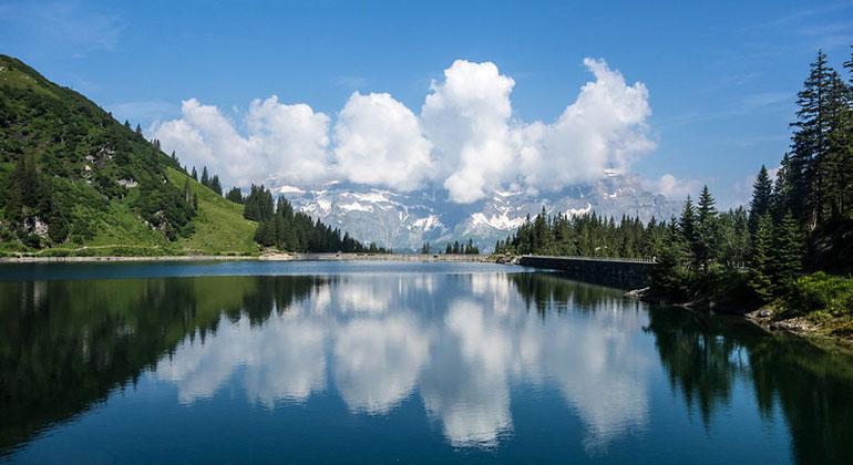 Flickr.com | Project Weather Amy | Stausee Garichti im Kanton Glarus