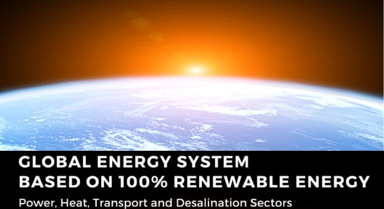 Neue Studie: Globales Energiesystem mit 100% Erneuerbaren Energien
