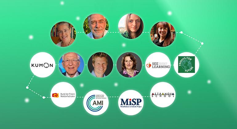 © rethink-education-congress.com | In 3 simplen Schritten Bildung grundlegend verändern! 30 Weltklasse Experten sprechen über Zukunftsfähige SCHULBILDUNG.