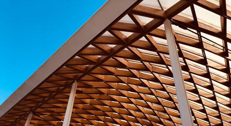 "Holz statt Stahlbeton: ""Bauhaus der Erde"""