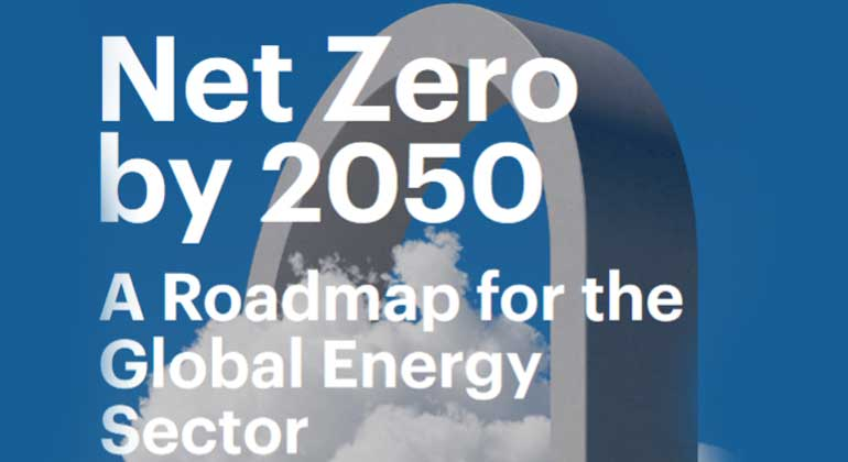 Pathway to critical and formidable goal of net-zero emissions by 2050 is narrow but brings huge benefits, according to IEA special report