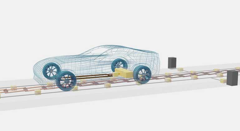 E-Fahrzeuge durch induktive Energieübertragung schneller laden
