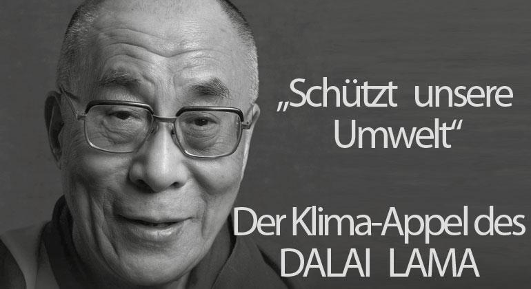 Benevento Verlag | Der Klima-Appel des Dalai Lama an die Welt
