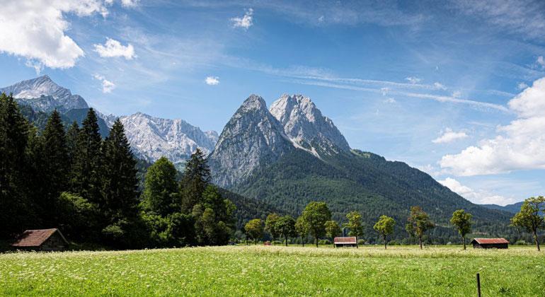 Erneuerbare Energien: Bergpanorama mit Windrad unerwünscht
