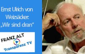 TransparenzTV | Ernst Ulrich von Weizsäcker