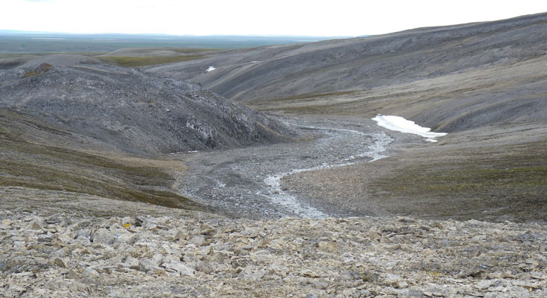 Thawing permafrost releases greenhouse gas from depth