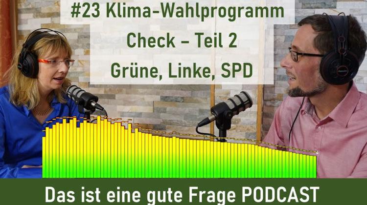 Cornelia + Volker Quaschning | Das ist eine gute Frage PODCAST