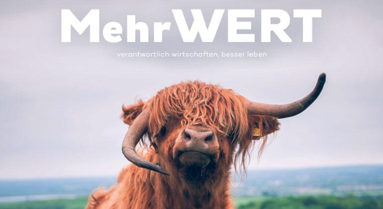 """Neues MehrWERT-Magazin unter dem Motto """"Die Welt ist voller Lösungen"""""""