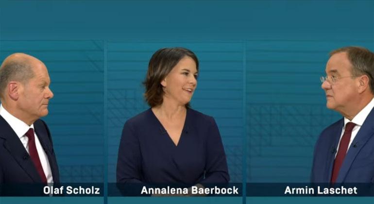 Das ARD/ZDF-Triell machte wenig Hoffnung auf schnellen Klimaschutz