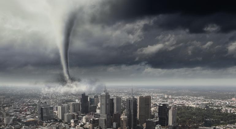 Auswirkungen tropischer Wirbelstürme reduzieren