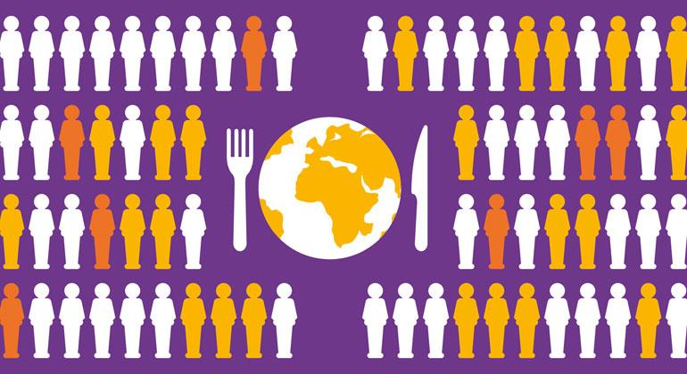 Armut Macht Hunger