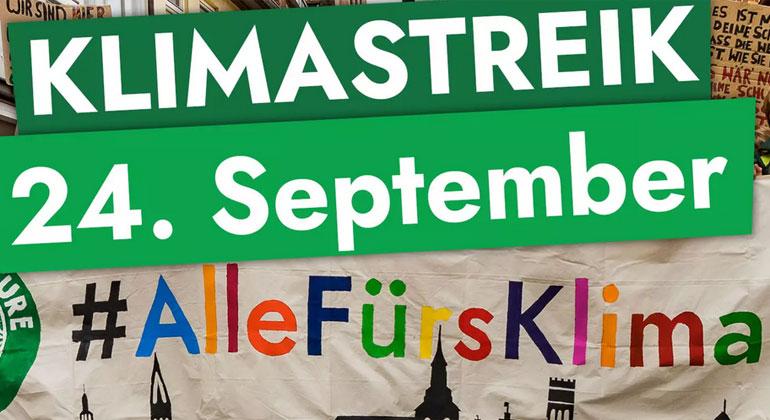fridaysforfuture.de / Klimastreik am 24. September 2021